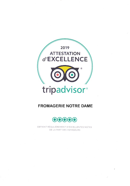 Trip Advisor Fromagerie Notre Dame