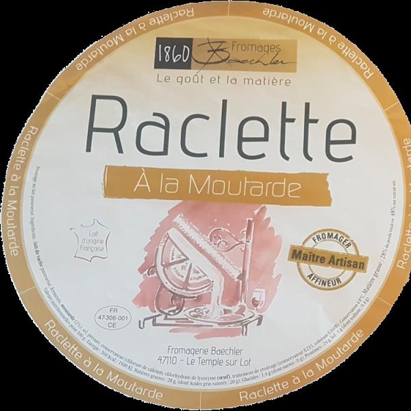 Raclette à la moutarde